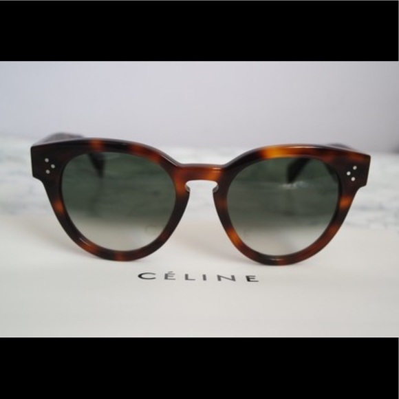 9f7e7fa5e84d CELINE Thin Preppy Sunglasses CL 41049s. NEW